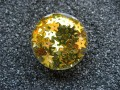 Gold stars resin ring