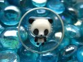 "Fantaisie ""Panda"" resin MAGNET"